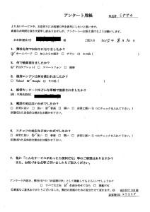京都市にてゴミ屋敷の整理 お客様の声