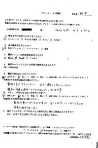 京都府木津川市にて不用品の回収処分 お客様の声
