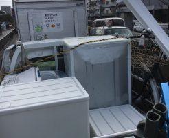 京都市上京区寺之内竪町で洗濯機など軽トラ1台分程度の不用品回収 施工事例紹介