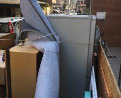 京都市中京区役行者町で整理ダンスなど軽トラ1台分程度の不用品回収 施工事例紹介