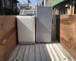 京都市南区東九条河西町で軽トラ1台分程度の不用品回収 施工事例紹介