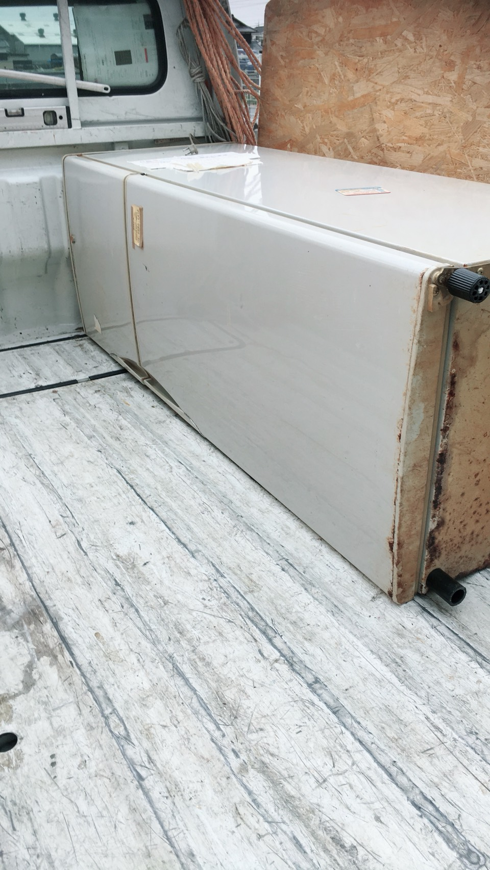 京都市上京区中社町で冷蔵庫など引越しに伴う不用品処分 施工事例紹介