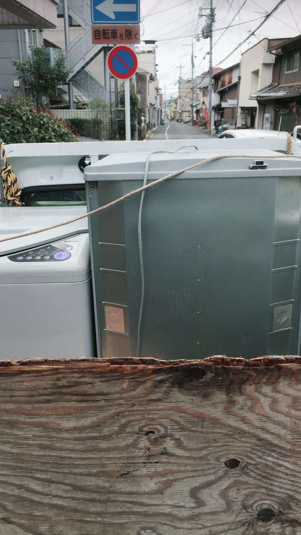 京都市上京区西上之町で引越しに伴う不用品処分 施工事例紹介