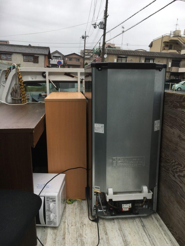 【相生市】大量の不用品を15分程で完全搬出!引っ越し期日までに作業完了で、ご満足いただけました!