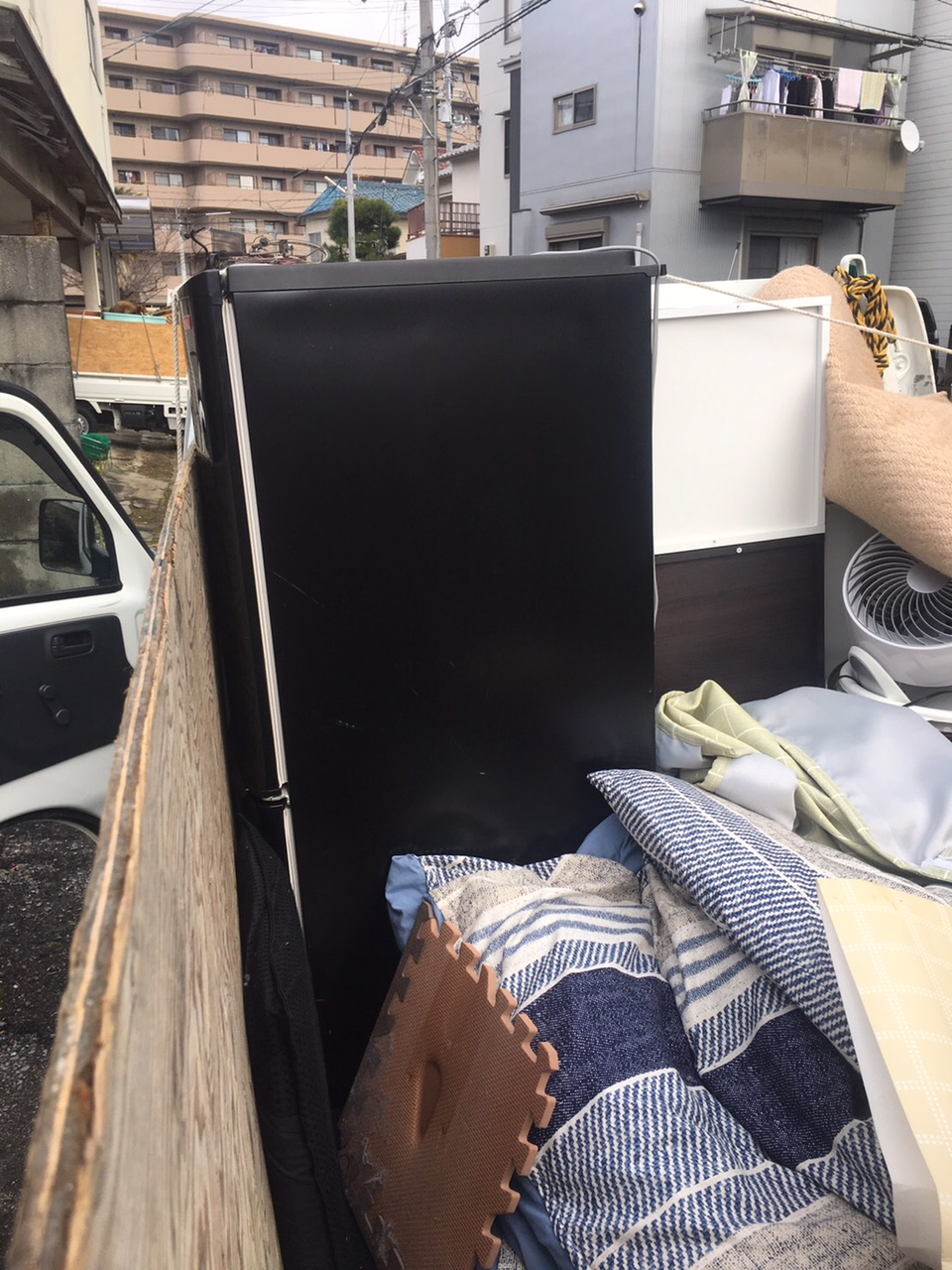京都市左京区吉田泉殿町で引っ越しに伴う不用品処分 施工事例紹介