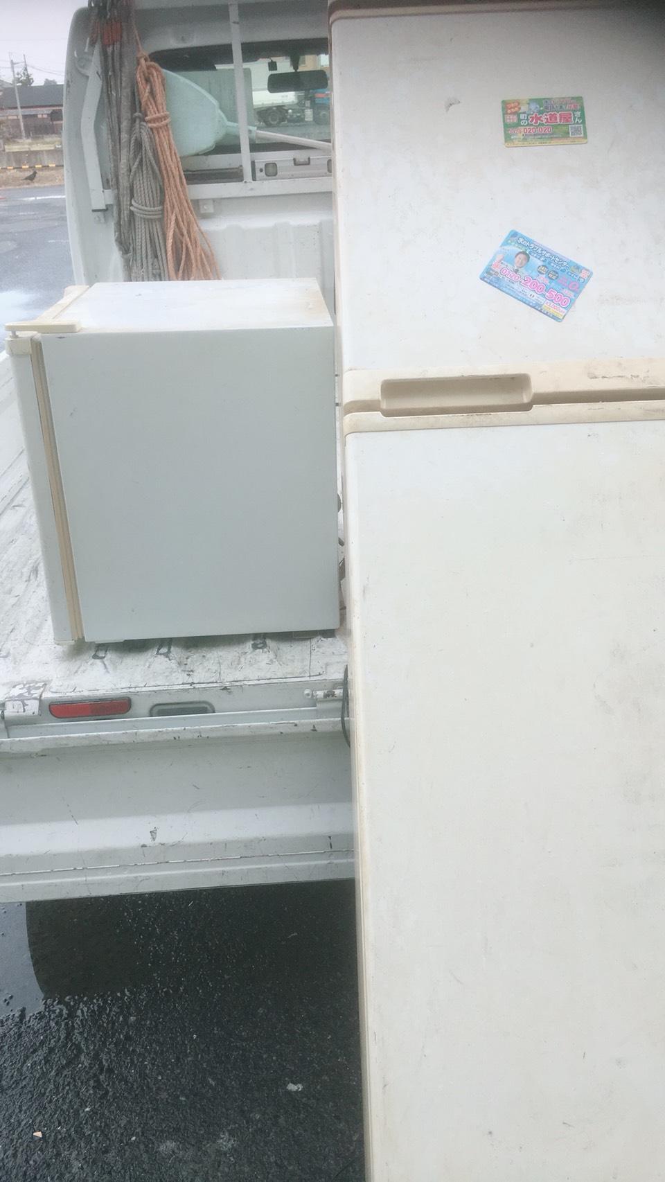 京都市中京区西ノ京小倉町で冷蔵庫の回収 施工事例紹介