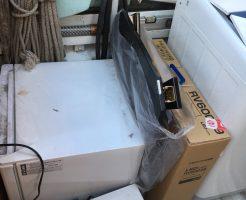京都市山科区小野西浦で冷蔵庫や洗濯機などの不用品回収 施工事例紹介