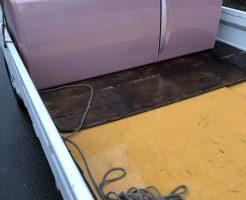 京都市南区東九条西河辺町で冷蔵庫の回収処分 施工事例紹介