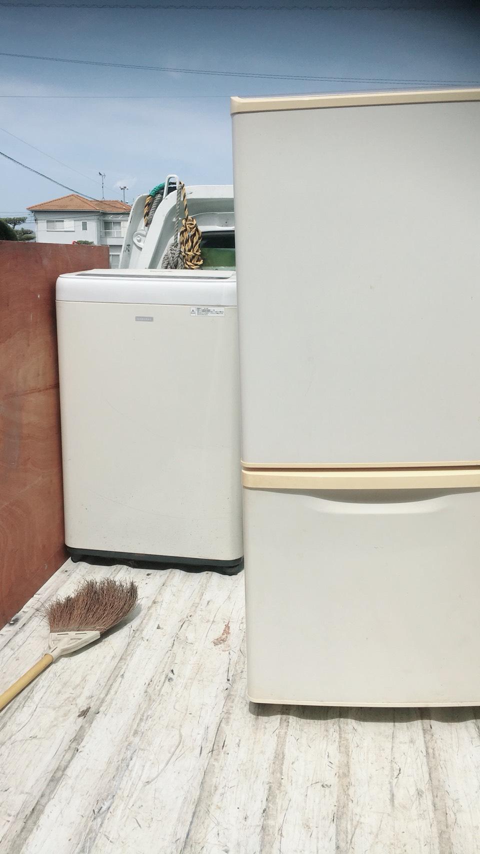 城陽市平川で洗濯機など軽トラ1台分程度の不用品処分 施工事例紹介