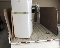 京都市中京区観音町で冷蔵庫など引っ越しに伴う不用品回収 施工事例紹介