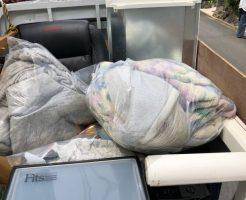 京都市北区紫野上若草町で冷蔵庫、布団、こたつなどの不用品回収 施工事例紹介
