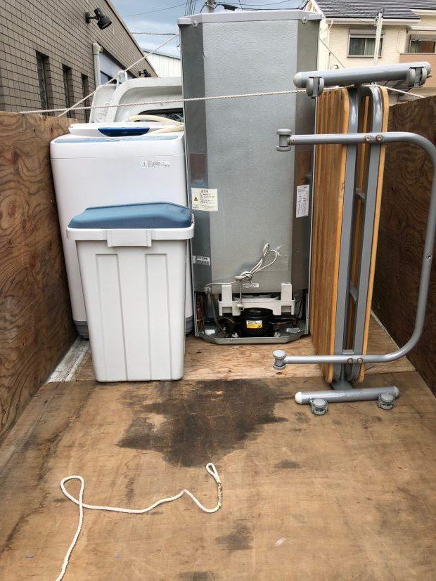 単身用の電化製品、家具の回収を即日回収いたしました!