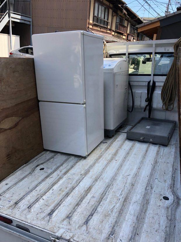 【白子町】冷蔵庫など重量のある不用品回収!短時間での作業やご希望日での対応に満足していただくことができました。