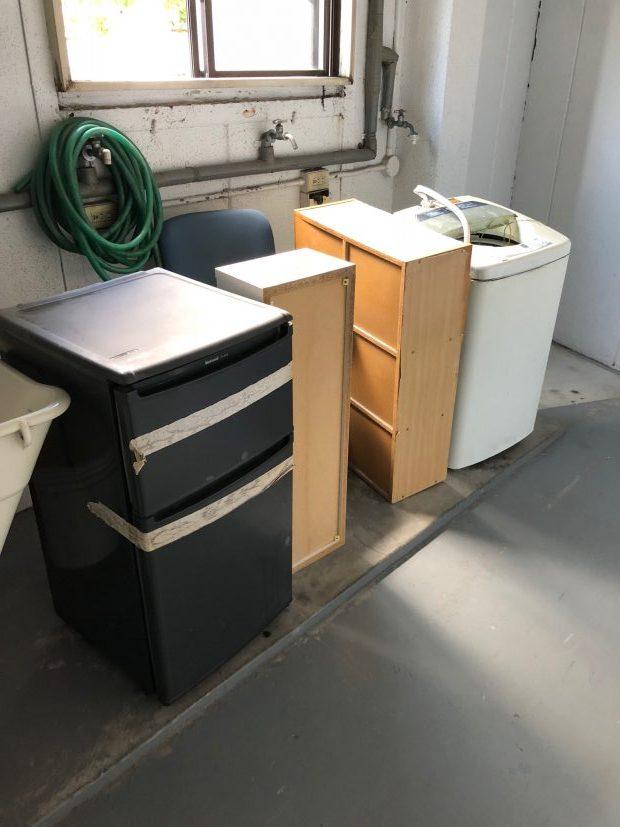 【一宮町】電化製品と家具の回収☆迷っている処分品があっても相談しやすくて安心、と喜んでいただけました。
