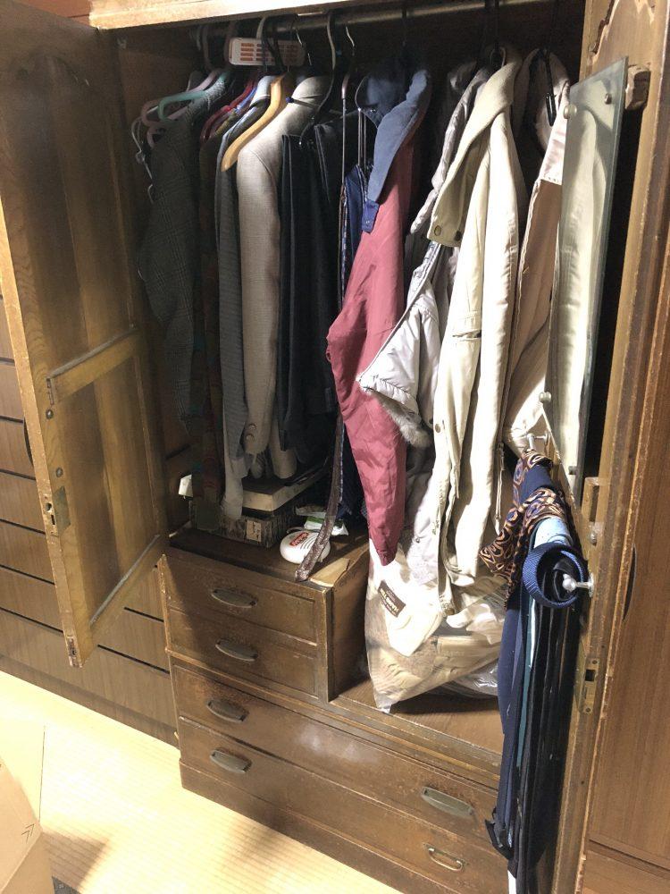 南相木村にて不用品回収(本棚、整理タンス、衣類分別なし)のご依頼 お客様の声
