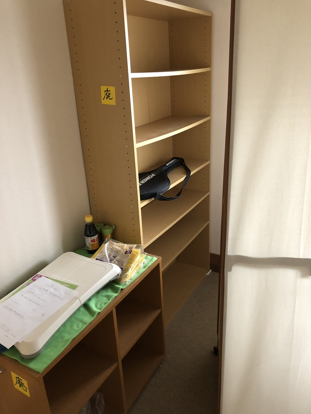 銚子市で不用品(本棚、ウレタンマットレス、折り畳みベッド、シングルベッド枠など)処分ご依頼 お客様の声