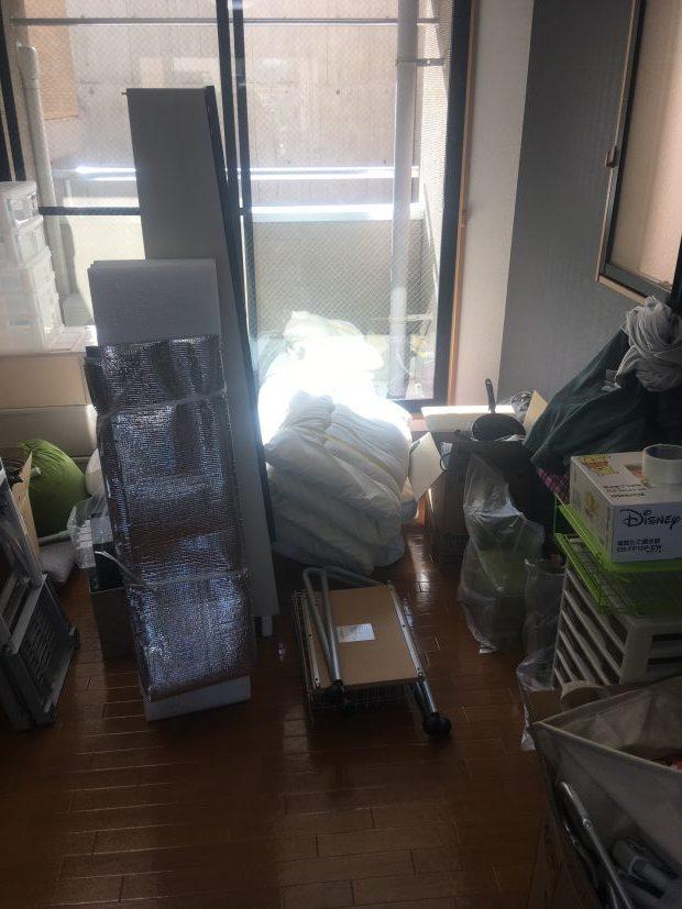 【京都市左京区】1軒分の不用品回収☆お伝えしていた金額よりもずっと少ない料金での回収にお喜びいただけました。