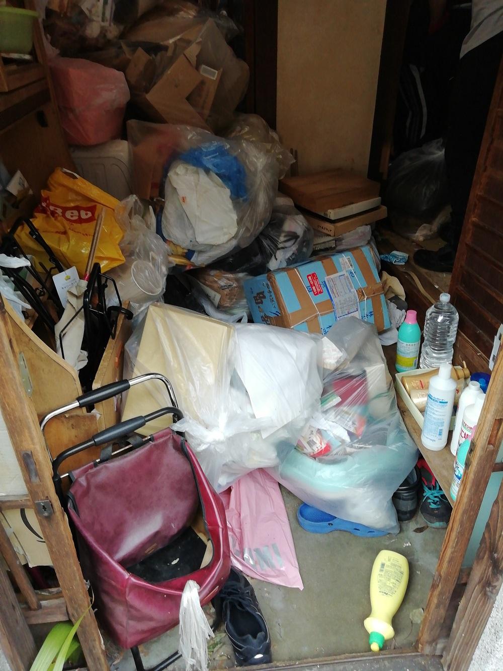 大鹿村でゴミ屋敷の不要品処分ご依頼 お客様の声