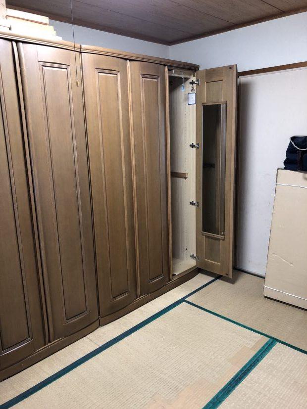 【栄村】婚礼ダンスなど大型家具の回収☆お電話翌日の回収で対応の早さにご満足いただけました!