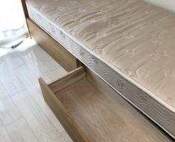 【京都市右京区】ベッド1点の回収☆ご希望日での対応やスピーディーな対応にご満足いただけました!
