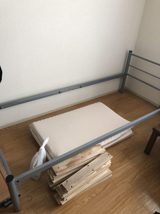 【京都市伏見区】ガスコンロ、ベッドの回収☆面倒な解体作業も別途料金でおまかせすることができて楽だったとご満足いただけました!