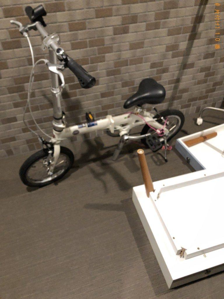 【松川村】ローテーブル、自転車等回収処分ご依頼 お客様の声