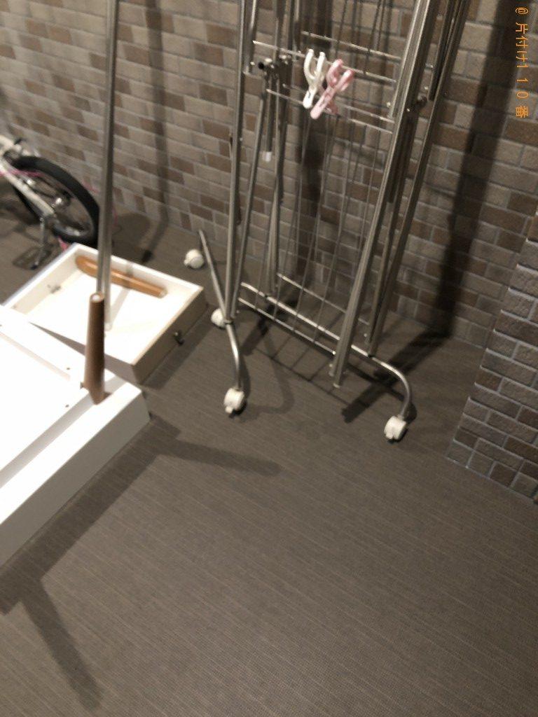 【京都市下京区】ローテーブル、自転車等回収処分ご依頼 お客様の声