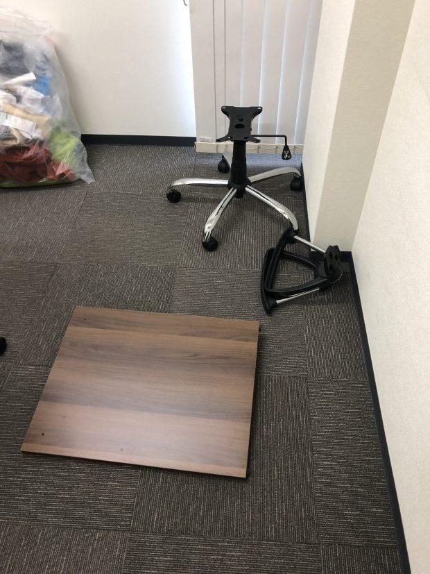 【京都市下京区】テーブル、椅子などの不用品回収☆即日回収で処分を急いでいたお客様に大変お喜びいただけました!