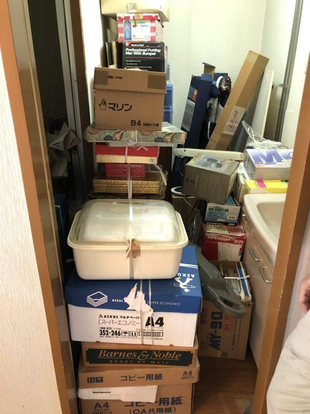 【京都市下京区】お引っ越しに伴う大量の不用品回収☆処分品の大幅な増加にも対応でき、お客様にご満足いただけました!