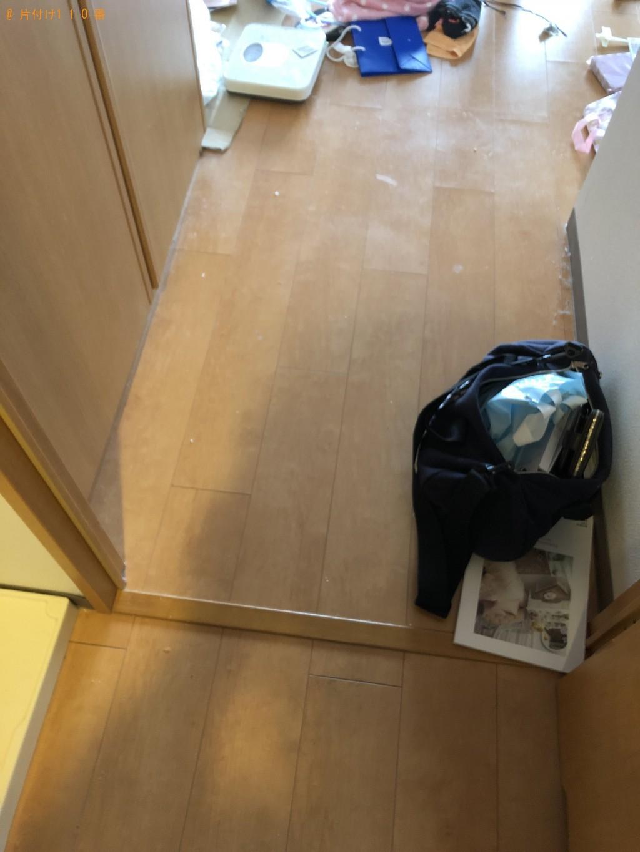 【京都市右京区】家電、布団等の不用品回収・処分ご依頼 お客様の声