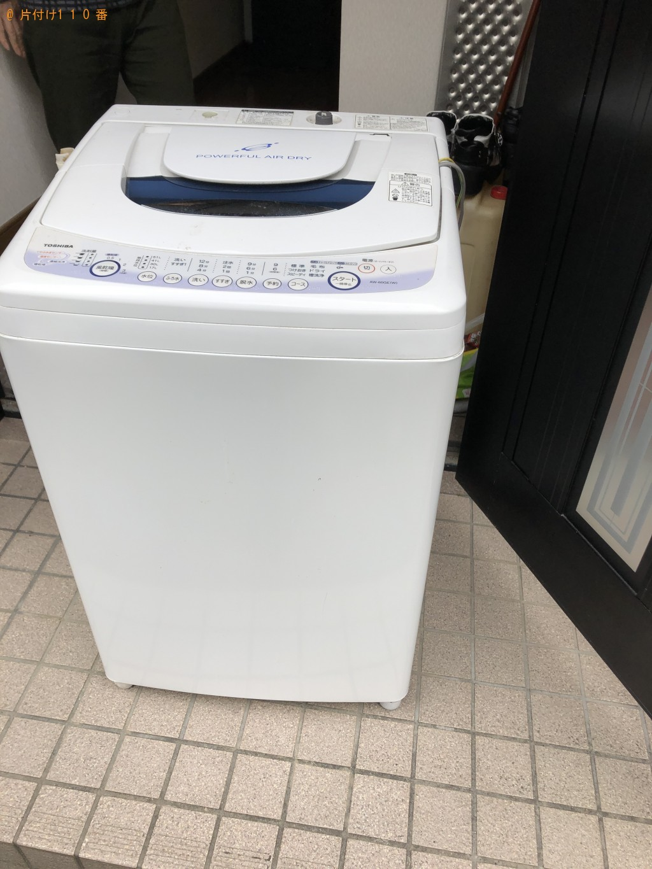 【京都市右京区】洗濯機の出張不用品回収・処分ご依頼 お客様の声