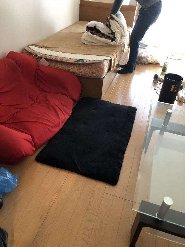 【京都市南区】お引っ越しに伴う家具・家電の回収☆忙しく時間のないお客様に、ご希望の日程での対応に喜んでいただけました!