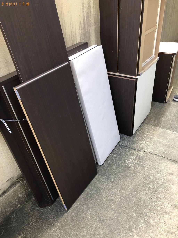 【京都市左京区】ベッドの出張不用品回収・処分ご依頼 お客様の声