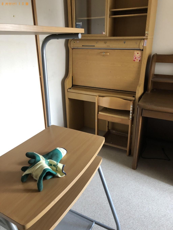 【京都市伏見区】学習机、タンス等の回収・処分ご依頼 お客様の声