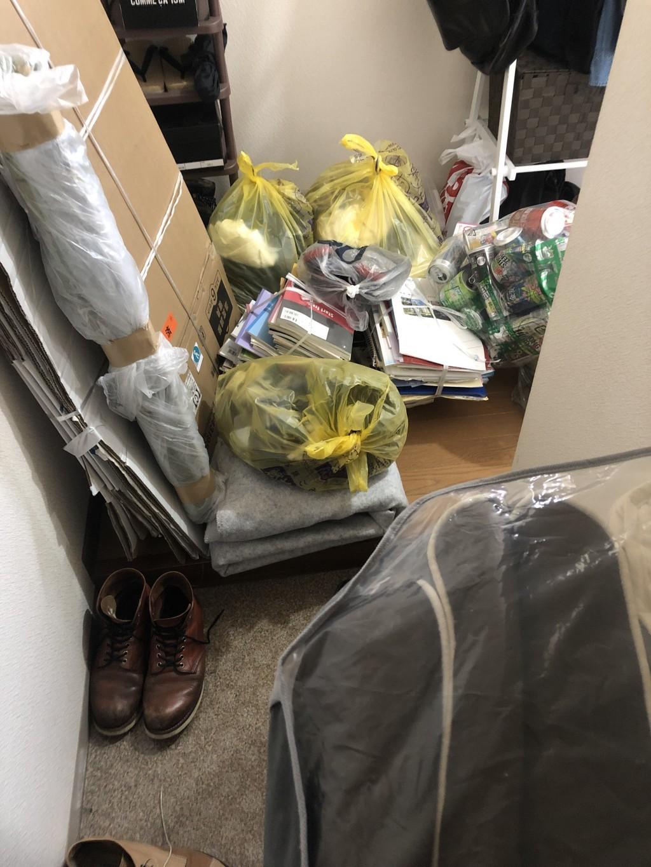 【京都市上京区】家庭ゴミなど不用品回収・処分ご依頼 お客様の声