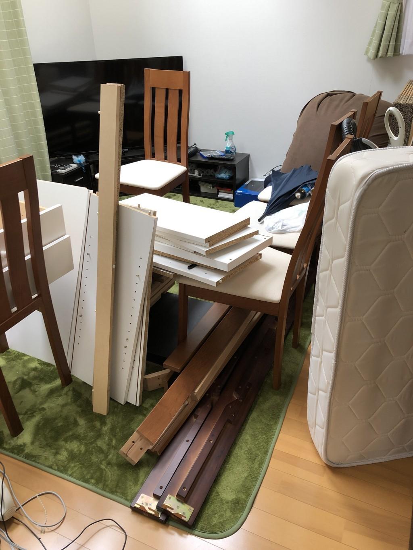 【京都市上京区】一軒家の家財一式を回収・処分ご依頼お客様の声