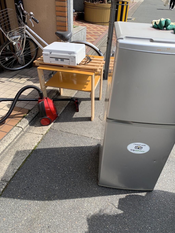 【古平町】冷蔵庫や掃除機の出張回収・処分ご依頼 お客様の声