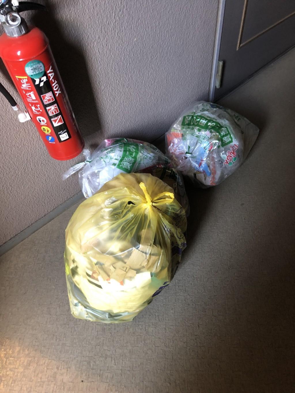 【清須市】大量のごみ袋の不用品回収・処分ご依頼 お客様の声