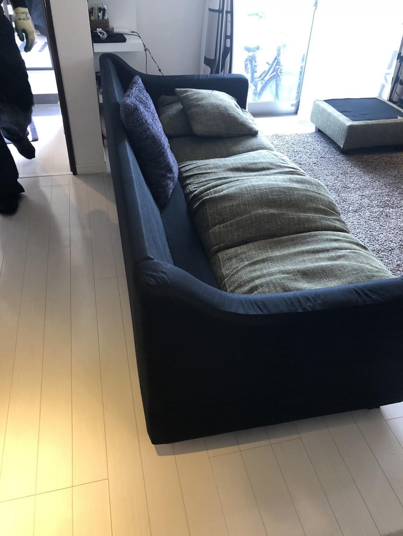 【京都市伏見区】濡れたソファーの処分ご依頼☆即日対応での回収にご満足いただけました!