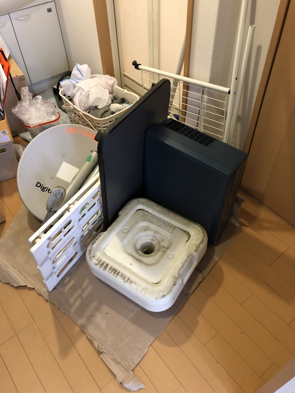 【知多市】家具・家電の回収☆希望日での回収にお喜びいただけました!