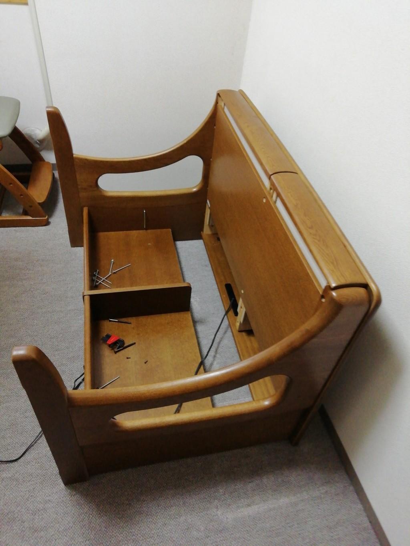 【京都市南区】学習机の回収☆自分ではどうにも出来ないものを回収してもらえるとお喜びいただけました!