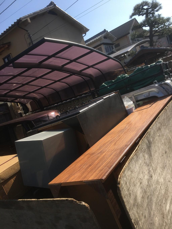 【京都市北区】テーブル、タンスなどの回収☆ホームページが分かりやすく気軽に頼めたとお喜びいただけました!