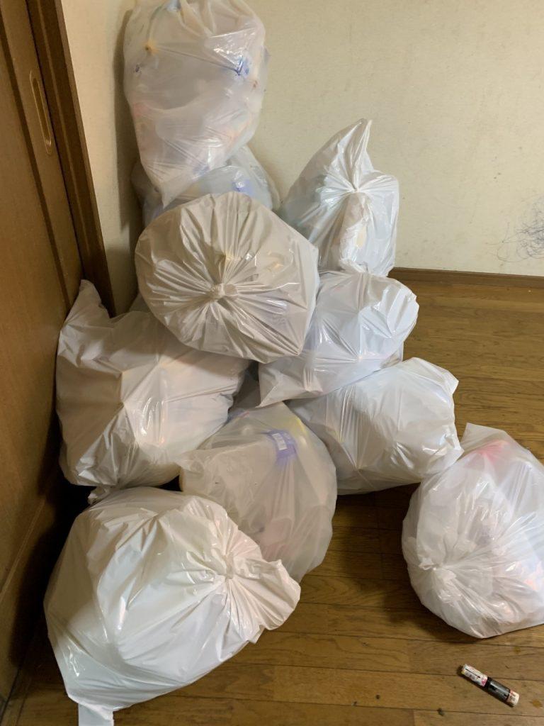 【桜川市】家庭ごみの回収と拭き掃除・掃き掃除のご依頼