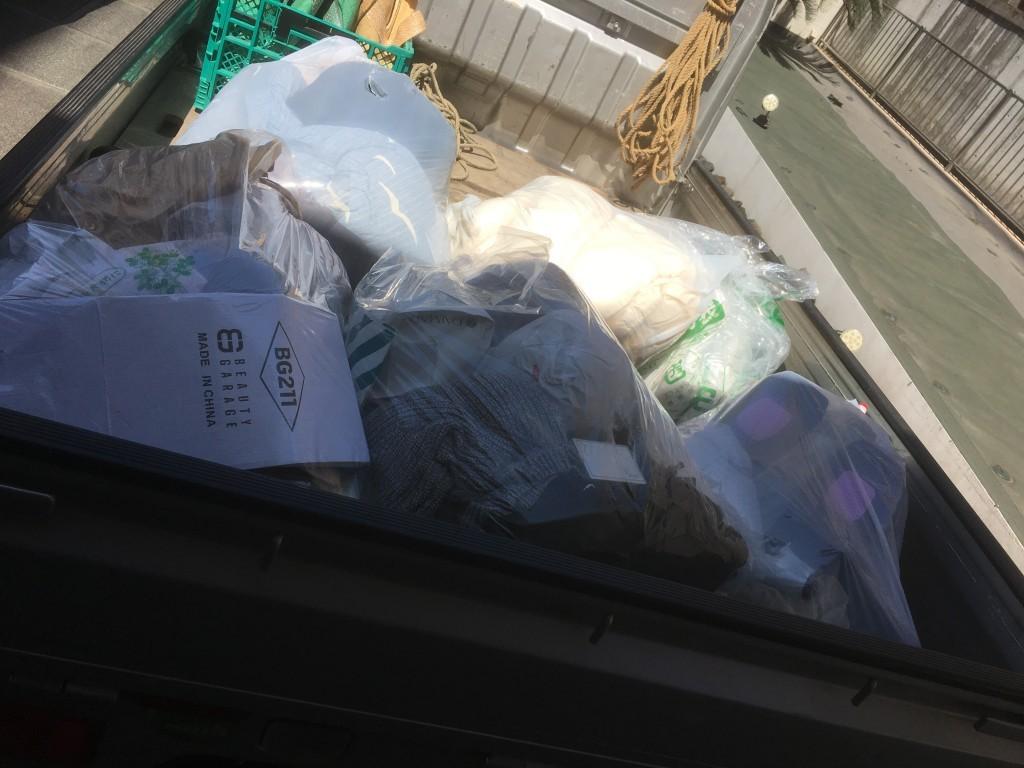 【京都市南区】家庭ゴミの処分ご依頼☆ホテルのお部屋からも回収可能でお喜びいただけました!