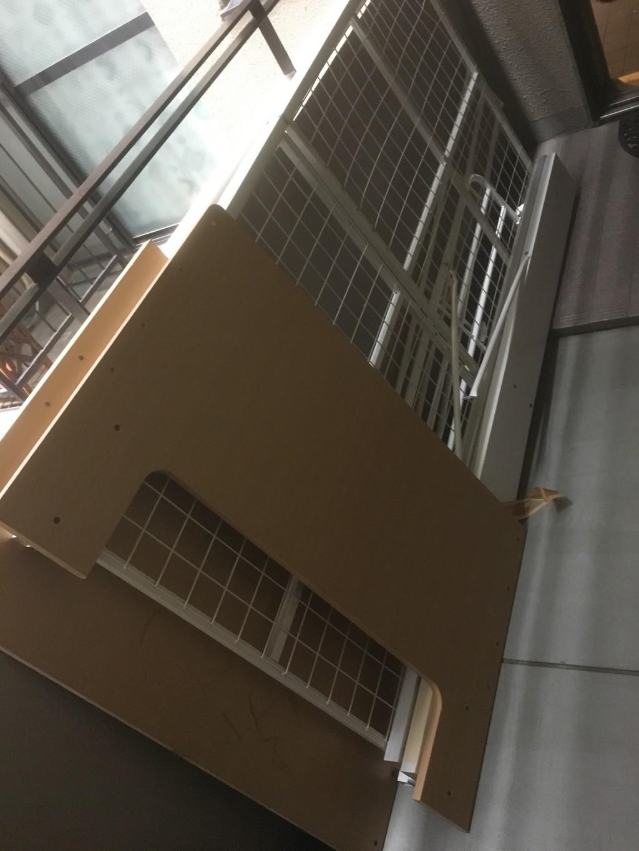 【京都市南区】大きなクローゼットやロフトベッドの回収☆処分に困る品も迅速に片付きました!
