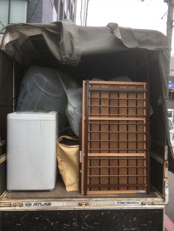 【京都市下京区】家中の家電・家具など不用品回収ご依頼 お客様の声