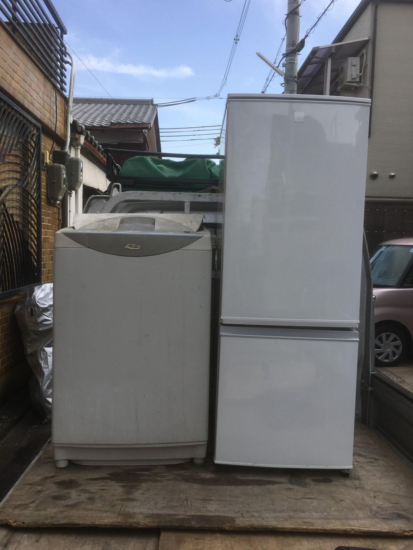 【東海市冷蔵庫と洗濯機回収のご依頼☆リピーター様より今回も頼んでよかったと喜んでいただくことができました。