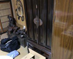 【京都市伏見区】仏壇の不用品出張回収・処分のご依頼 お客様の声