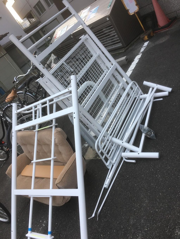【瀬戸市】ロフトベッドとソファー回収のご依頼☆処分しづらい品をお任せできお喜びいただけました!