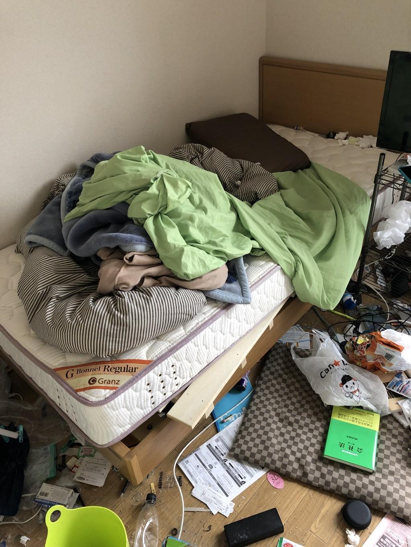 【京都市北区】冷蔵庫やベッドなど不用品回収処分ご依頼 お客様の声